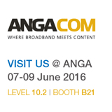 PBN is exhibiting at ANGA COM 2016. June 7-9, Cologne Germany